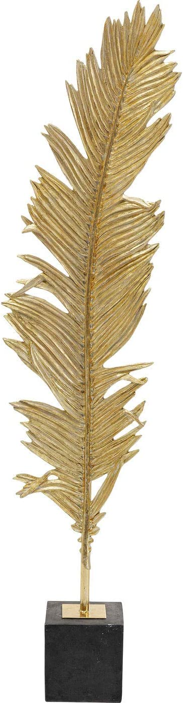 KARE Deco 2021new shipping free shipping Object Feather Two Size free 147 Gold One