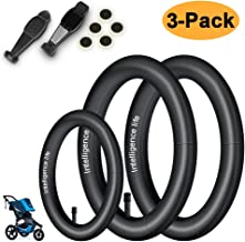 [3-Pack] 2Pcs 16''x 1.5/1.75 Rear + 1Pc 12.5'' x 1.75/2.15 Front Heavy Duty Explosion-Proof Stroller Inner Tire Tube for BoB Revolution SE/Pro/Flex/SU-Professinal BOB Stroller Tire Tube Replacement