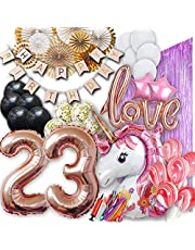 23st Birthday Party Supplies - Balloons