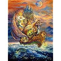 Buffalo Games 1000-Piece Josephine Wall Voyage to Murllis Sea Jigsaw Puzzle