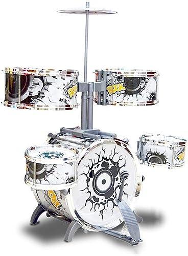 HXGL-Tambour Cadeaux éducatifs for Enfants Batterie Battre InstruHommests de Musique Musique Jouets éducation précoce 3-6 Ans (Taille   M)