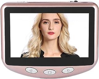 ASHATA - Mirilla Digital para Puerta (720p HD Pantalla LCD de 43 Pulgadas WiFi cámara inalámbrica de 1 MP visión Nocturna por Infrarrojos)