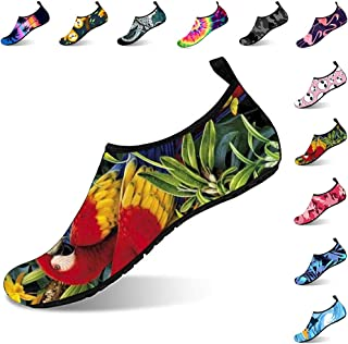 Womens and Mens Water Shoes Barefoot Quick-Dry Aqua Socks Barefoot for Outdoor Beach Swim Sports Yoga
