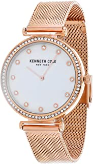 Kenneth Cole Women 's KC50927004 Quartz Rose gold Watch