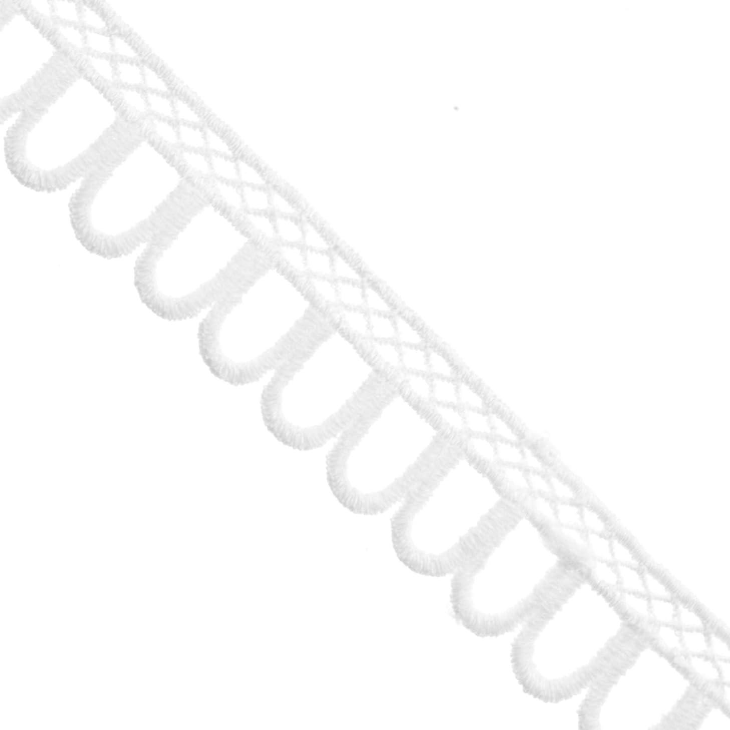 Polyester Crochet Edging Trim - No Stretch - 7/8