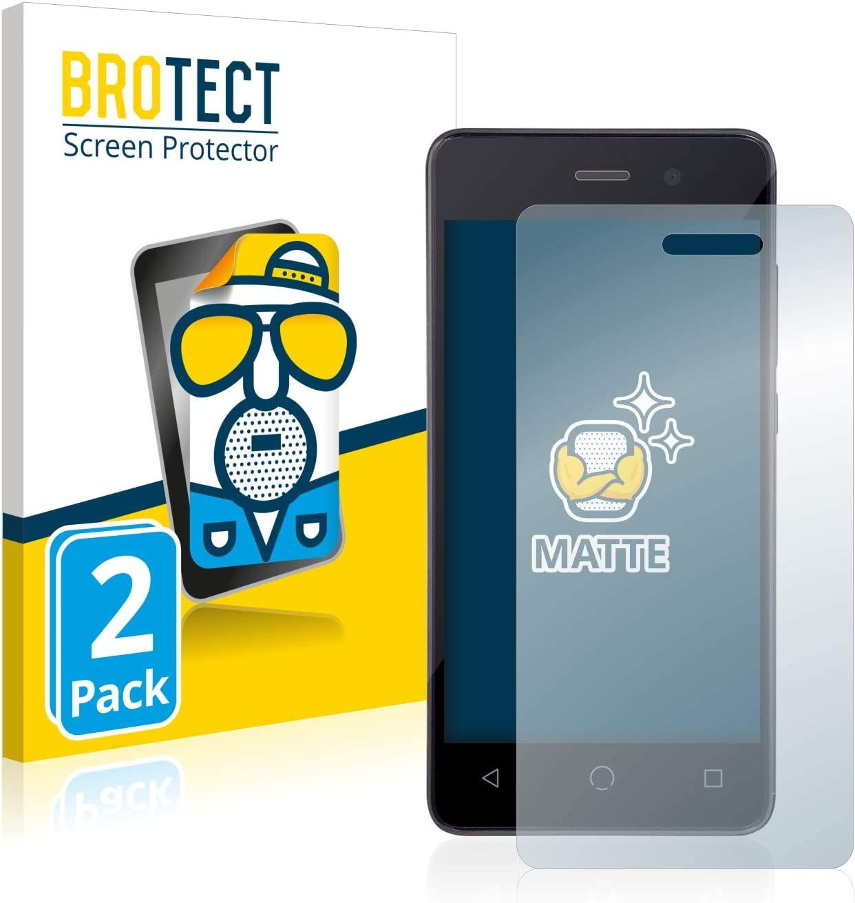 BROTECT. Easy-to-use 2X Matte Screen Protector for Anti Omnipod Quantity limited Dash