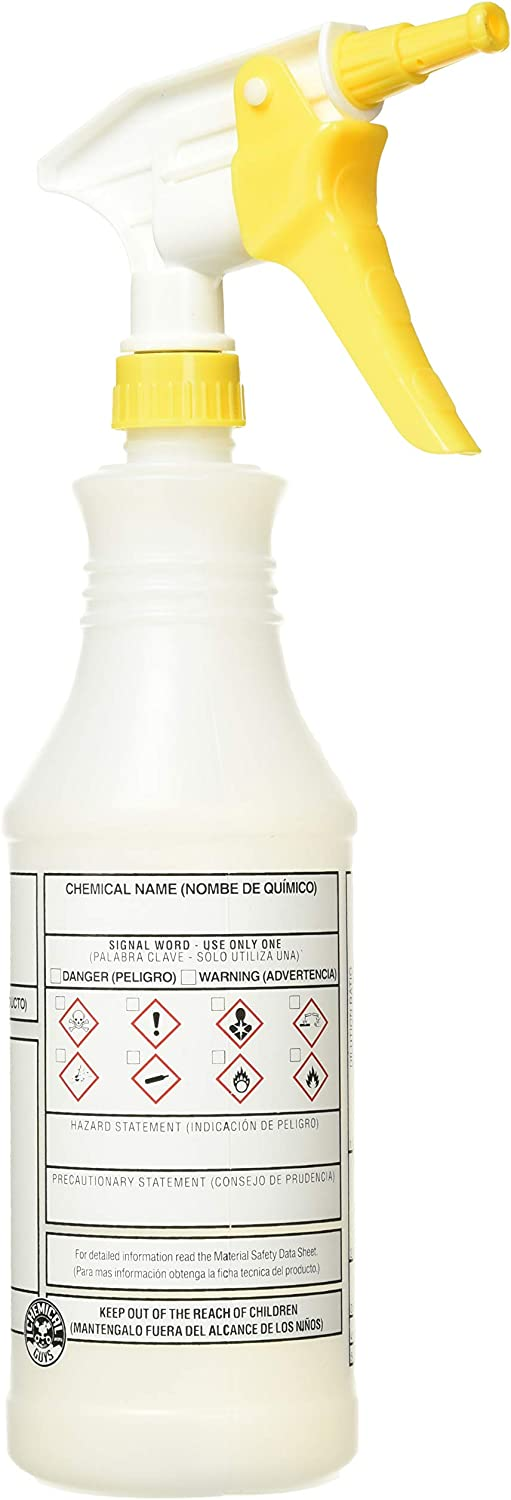 Chemical Guys Acc_130 Professional Chemical Resistant Heavy Duty Bottle and Sprayer, 32 oz : Automotive