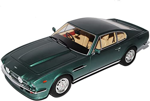 GT Spirit Aston Martin V8 Vantage DBS Coupe Grün 1972-1973 Nr 72 1 18 Modell Auto