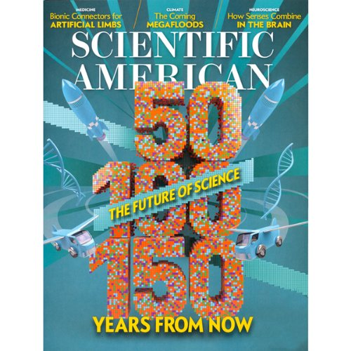 Scientific American, January 2013 cover art