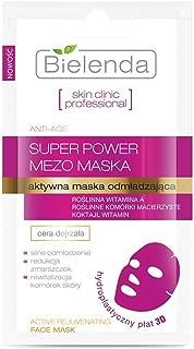 Bielenda Skin Clinic Professional Rejuvenating Cell Sheet Mask with Revitalizing Effect 1 pc