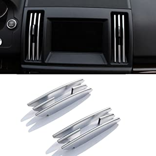 8PCS plastica cromata interno Center climatizzatore Vent Outlet strisce Trim per Freelander 2 2008 - 2015 auto di