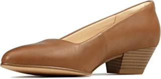 حذاء حريمي Sense 35 Court من Clarks، أسمر ضارب للصفرة، 6. 5