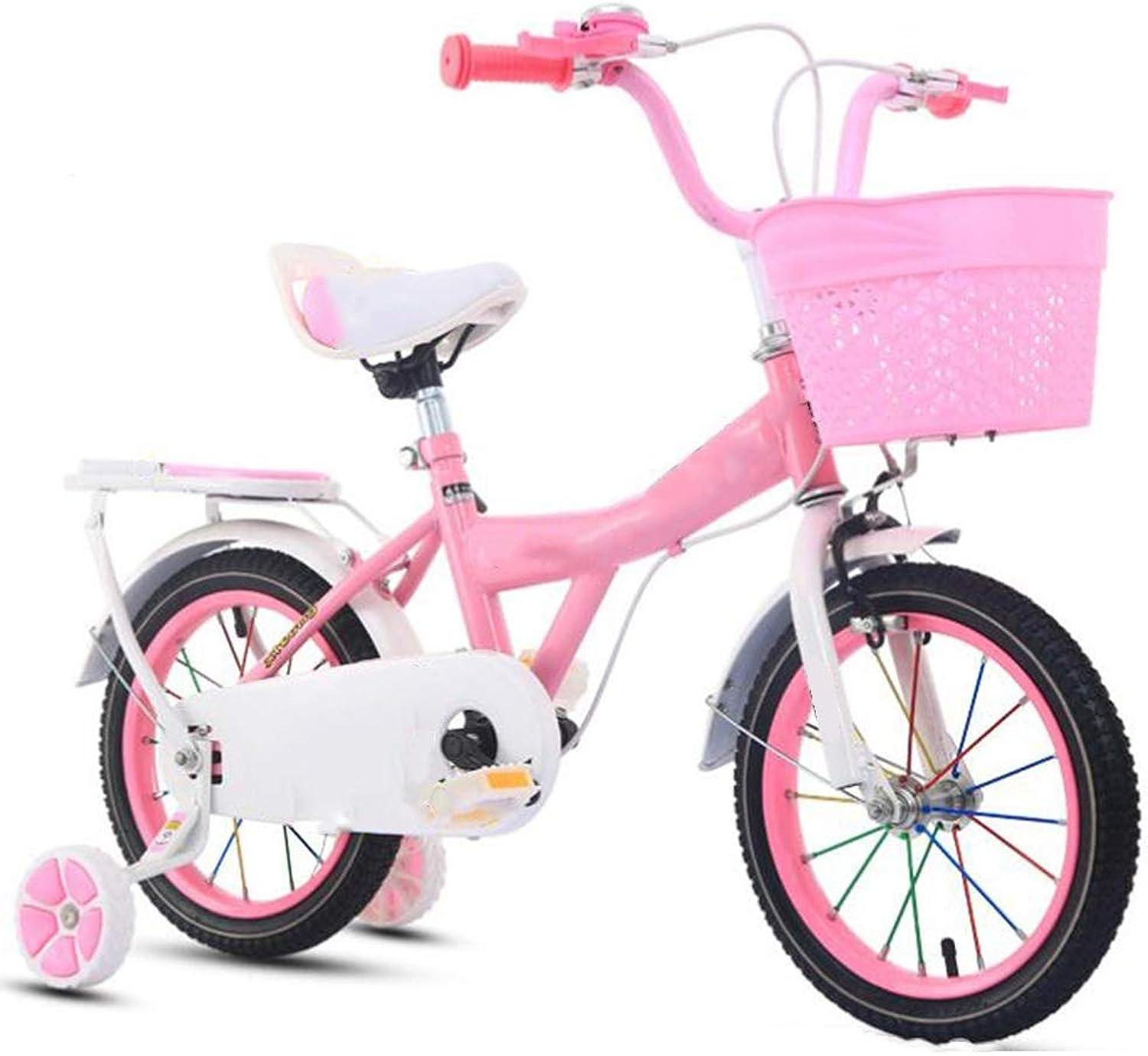 precio razonable Axdwfd Axdwfd Axdwfd Infantiles Bicicletas Bicicletas para Niños 12 14 16 Pulgadas, Bicicleta para Niños con Rueda de Entrenamiento Regalo para Niños y niñas de 2 a 8 años  calidad auténtica