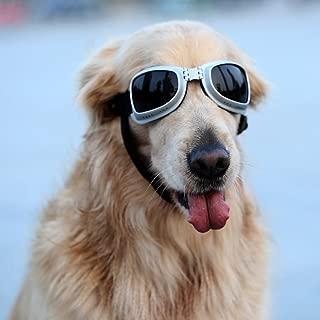 Petleso Large Dog Goggles Sunglasses UV Goggles Golden Retriever Goggles