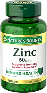 Nature's Bounty Zinc Caplets