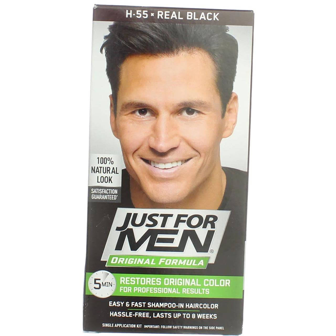 shop Just For Men Shampoo-In Hair Color pk - 2 Black Real New arrival