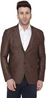WINTAGE Men's Wool Casual and Festive Blazer Coat Jacket : Multiple Colors and Sizes