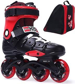 Inline Skates Adjustable, Roller Skates Beginner ,Inline Roller Hockey Skates Junior,Rollerblade Skates Unisex Adult,Multi...