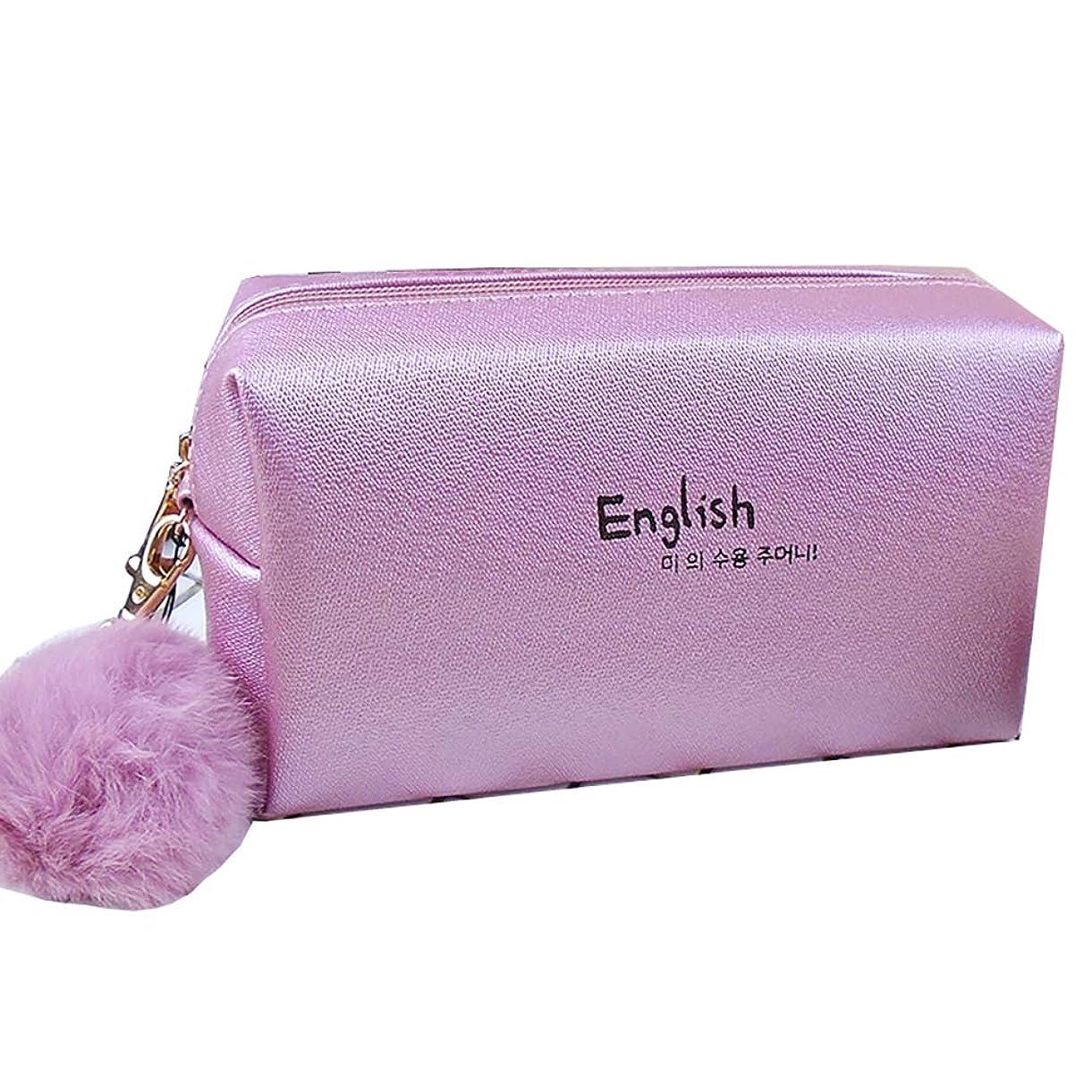 アブストラクトトン破壊する毛球や収納袋と旅行、女性(淡いピンク1)防水バッグ