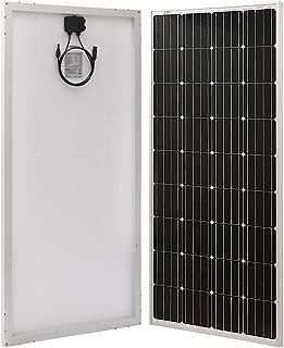 Richsolar 170 Watt 12 Volt Moncrystalline Solar Panel High Efficiency Mono Module Off Grid PV Power for Battery Charging, RV, Boat, Caravan, Trailer and Other Off Grid Applications
