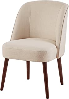 Madison Park Bexley Rounded Back Dining Chair Natural See Below