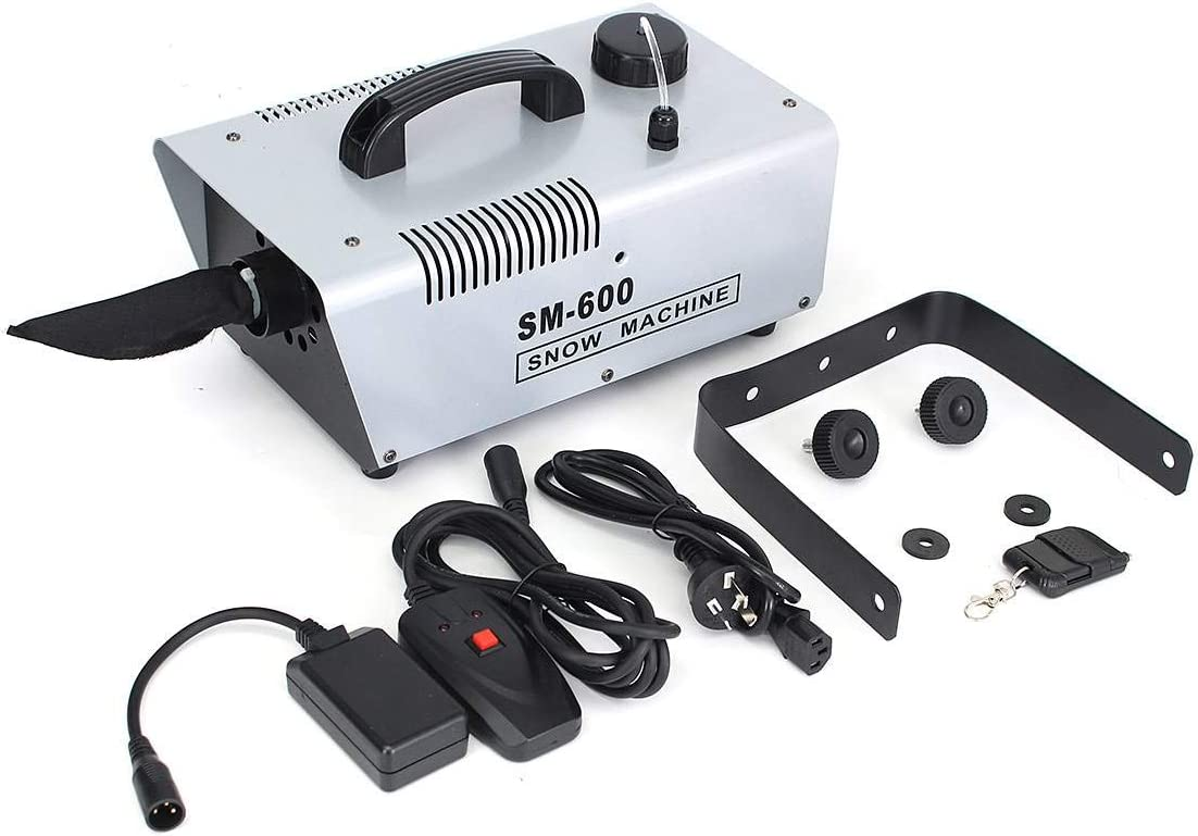 600W Mini Sale Special Price Flurry Super sale period limited Snow Machine Stage for Remote Wired Effect + Ho