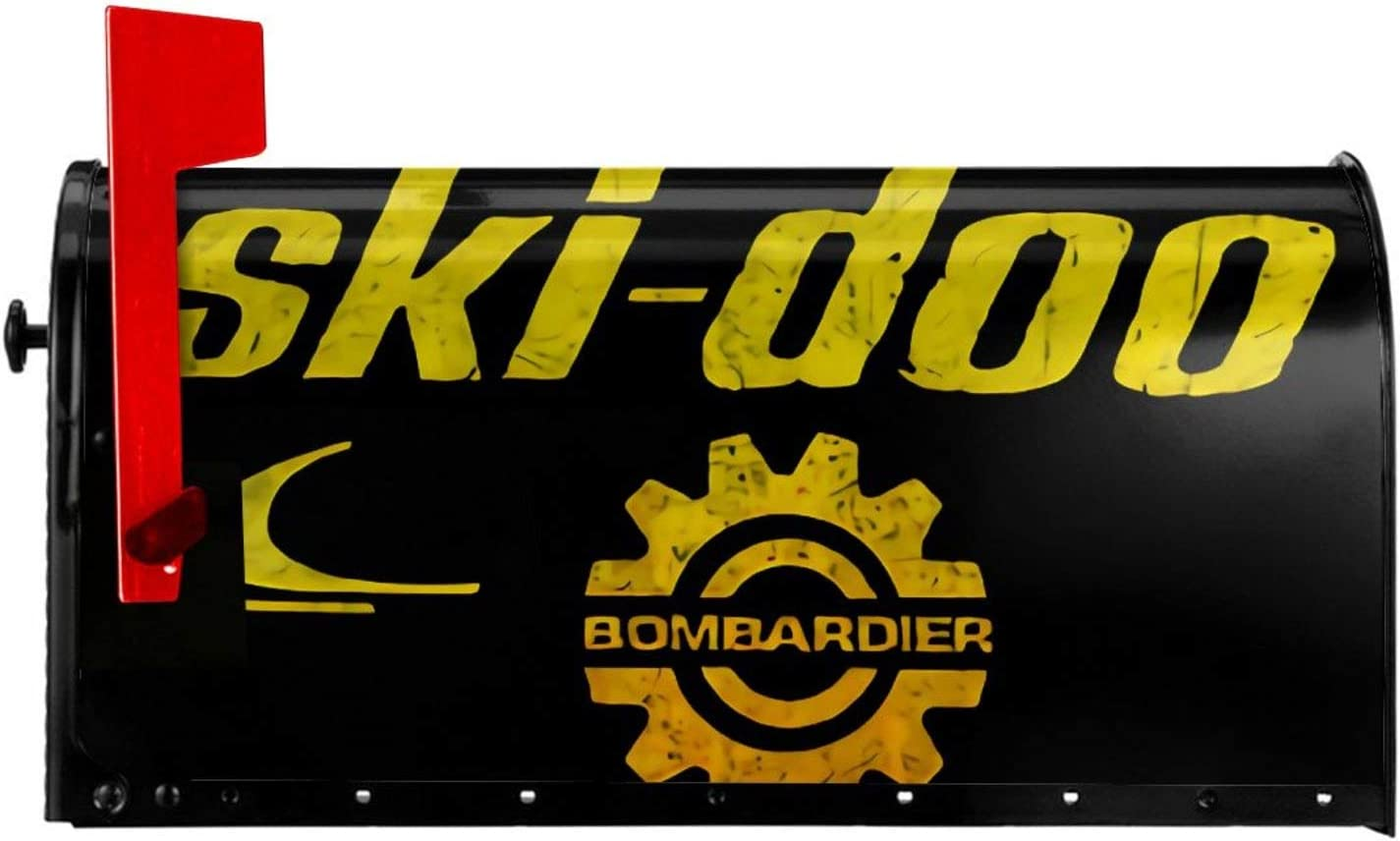 Weerbar Snowmobile from Skidoo Mailbox Cover Sticker Decoration Rainproof and Moistureproof Fashion