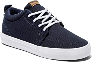 Kids Boys GS Chukka Low Top Lace Up Fashion, Navy Suede, Size 4 M US Kids