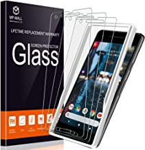 MP-MALL [3-Pack] Screen Protector for Google Pixel 2, [Alignment Frame Installation] [Anti-Scratch] Tempered Glass with Lifetime Replacement Warranty