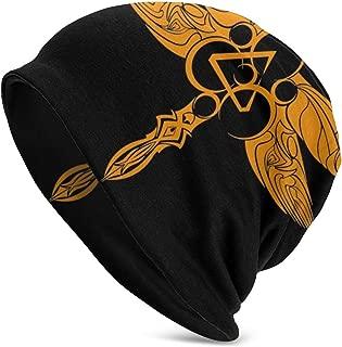 ZKALBUQ Coheed Cambria Soft Beanie Cap Slouchy Chemo Hat Turban Cozy Skull Cap Lightweight Stretch Sleep Hat for Men Women