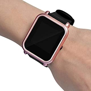 💗DEESEE(TM) 💗Colorful PC Case Cover Protect Shell For Xiaomi Huami Amazfit Bip Youth Watch (Rose Gold)