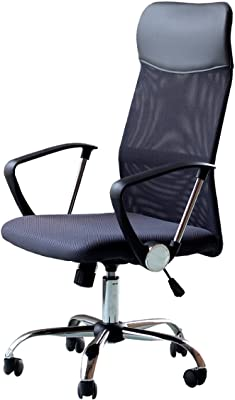 EBS High Back Office Chair for Computer Desk, Task Chair with Arms and Height Adjustable