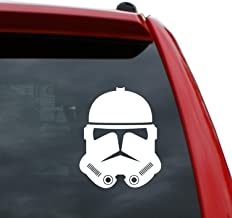 """Black Heart Decals & More Star Wars/Clone Trooper v2 Vinyl Decal Sticker 