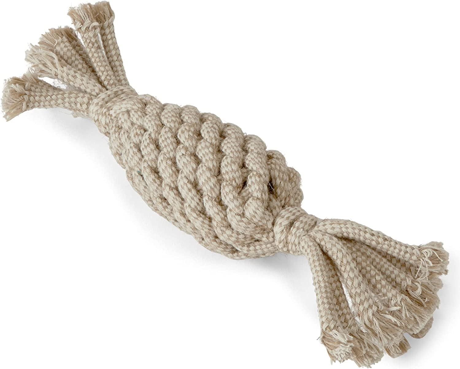 Aussie Naturals Natural Popular Raleigh Mall Rope Dog Pineapple Toy