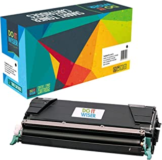 Do it Wiser Compatible Toner Cartridge Replacement for C746H1KG Lexmark X746de C746 C748 X748de C748de C746dn XS748de X748 X746 C746n C748de 748de (Black)