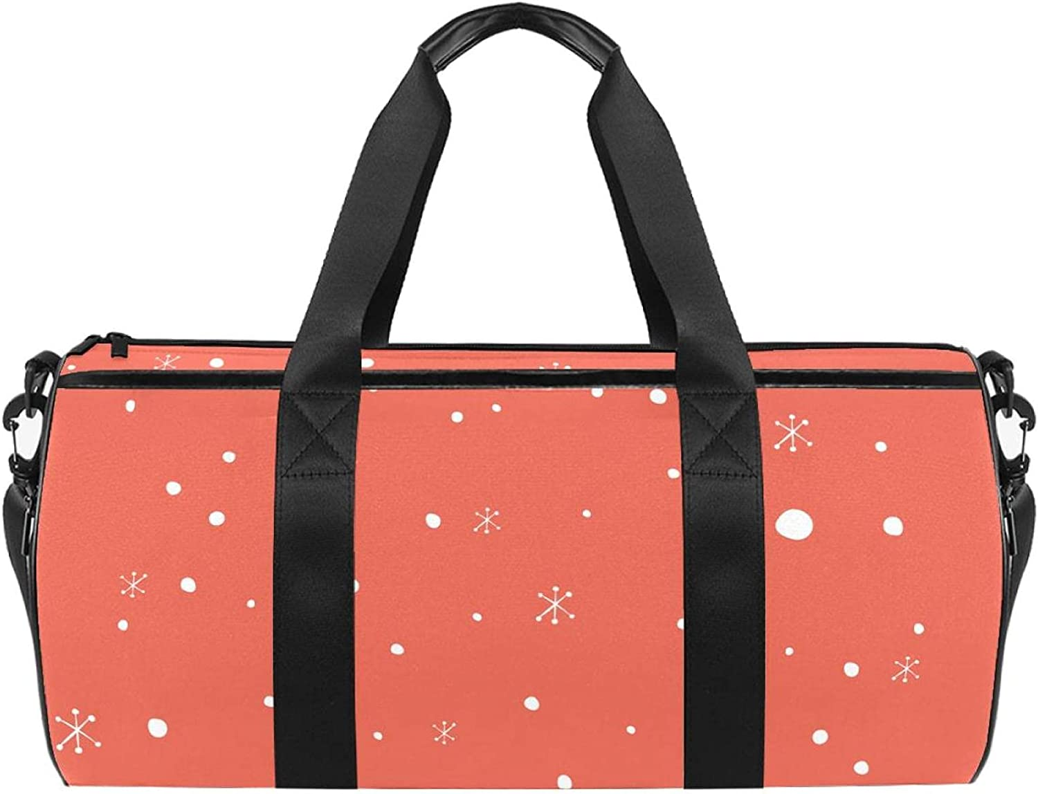 White Spot On All items in Ranking TOP3 the store Red Background Sports Luggage Travel Bag S Duffel