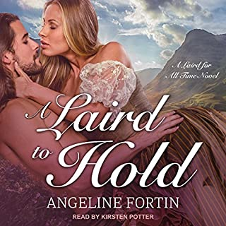 A Laird to Hold audiobook cover art
