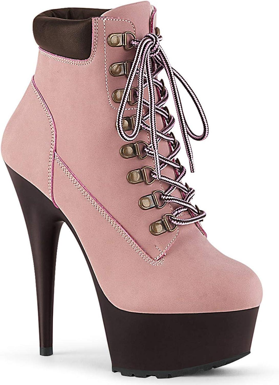 Pleaser Womens DELIGHT-600TL-02 BPNB DBN Sandals