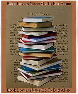 CafePress-Book Lovers Blanket 2-Soft Fleece Throw Blanket