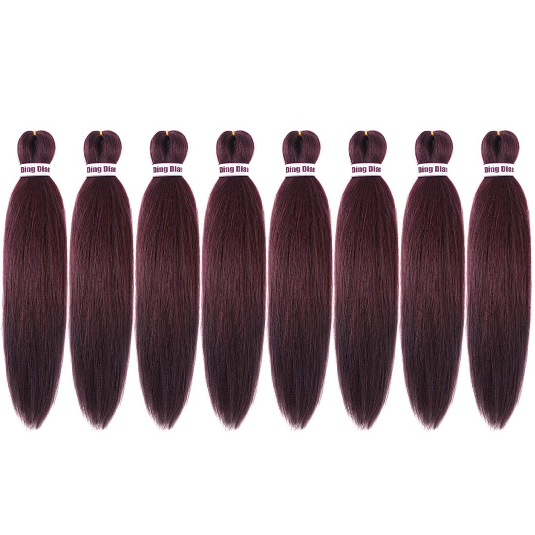 Ding Dian Pre Soldering Stretched Braiding Syntheti Hair Packs Challenge the lowest price of Japan Braid 20