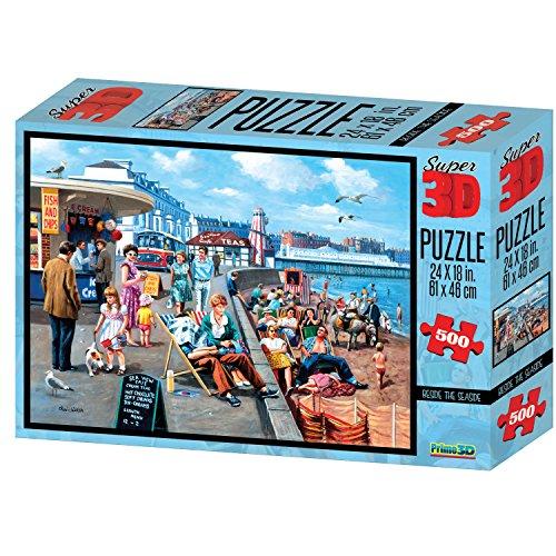 Kevin Walsh kw10018 Beside the Seaside Super 3D puzzel (500 stuks)