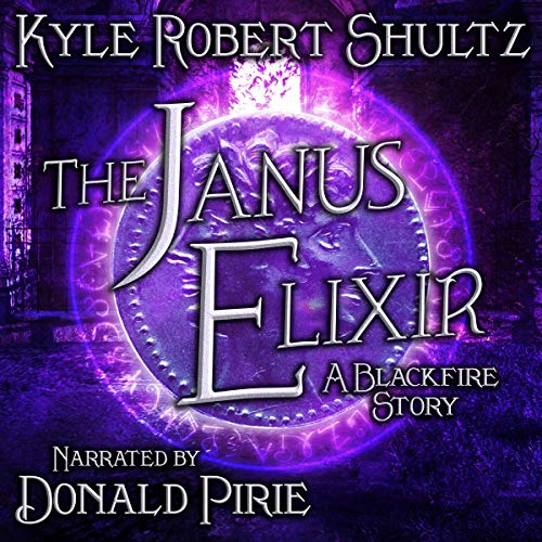 The Janus Elixir audiobook cover art