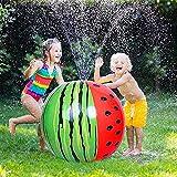 Thnkstaps Juguetes Inflables para Rociadores, Bolas de Agua en Spray, Juguetes de Exterior, Juguete de Rociador para Niños, Bola Inflable del Agua para Verano Jardín Playa Actividades