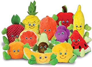 Learning Zonexpress Fruit Plush Toys | Healthy Games for Kids | Fruit Garden Heroes Set of 12