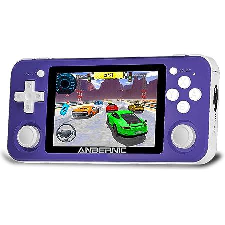 KKPLZZ RG351P Retro-Spielekonsole Open Source System Videospiel Tragbare Handheld-Konsole 3,5-Zoll-IPS-Bildschirmspiel-Player