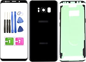 Ubrokeifixit Compatible Front Outer Lens Glass Screen Rear Panel Back Cover Replacement for Samsung Galaxy S8+ Plus 6.2
