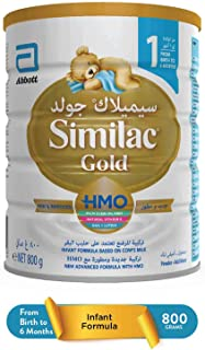 Similac Gold Hmo Milk Based - 0 To 6 Months (Pack Of 1)