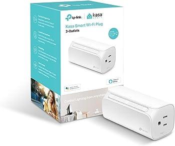 TP-Link Kasa 2-Outlet Smart Wi-Fi Plug (HS107)