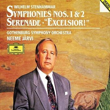 """Stenhammar: Symphonies Nos. 1 & 2, Serenade, """"Excelsior!"""""""