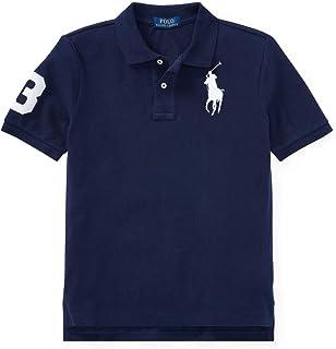 (ポロ ラルフローレン) POLO RALPH LAUREN ポロシャツ 【ボーイズサイズ】 ビッグポニー 半袖 鹿の子 ゴルフ 《小さめサイズ》 並行輸入品